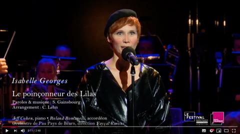 Ecran vidéo Poinçonneur des Lilas Isabelle Georges