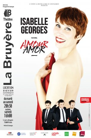 Affiche Isabelle Georges Amour Amor