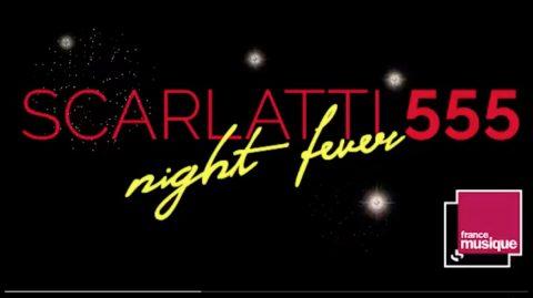 Ecran vidéo Isabelle Georges Vidéo Scarlatti Night Fever